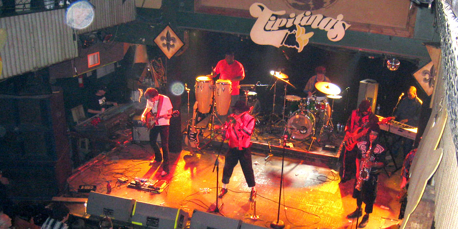 Trombone Shorty at Tipitina's